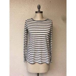 Madewell Striped Long Sleeve Top